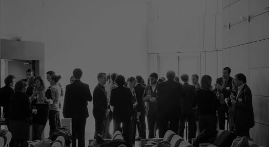 Conférence Bestfact sur la logistique et les intermodalités européennes, tenue dans la Grande Arche de la Défense