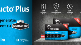 Holcim Romania lanseaza primul ciment aditivat la sac din Romania