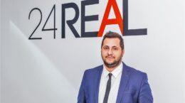 Oscar Răceanu, Head of Residential Division 24REAL.