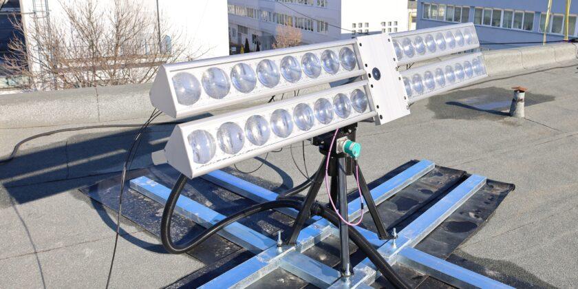 Sistemul de captare a luminii
