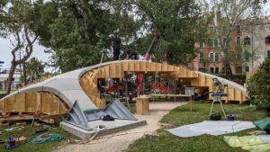 pod realizat din beton 3D